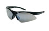 SAS Safety Black Frame Diamondbacks™ Safety Glasses with Smoke Lens