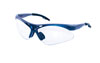 SAS Safety Blue Frame Diamondbacks™ Safety Glasses with Clear Lens