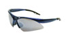 SAS Safety Blue Frame Diamondbacks™ Safety Glasses with Smoke Lens