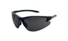 SAS Safety Black Frame DB2™ Safety Glasses with Gray Lens
