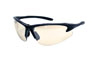 SAS Safety Black Frame DB2™ Safety Glasses with In & Outdoor Lens