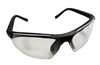 SAS Safety Black Frame Sidewinder™ Readers LED Eyewear with Clear Lens, 2.5 Magnification
