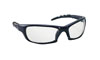 SAS Safety Charcoal Frame GTR™ Safety Glasses with Clear Lens