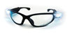 SAS Safety Black Frame Lightcrafters™ LED Eyewear with Clear Lens,, 1.5 Magnification