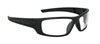 SAS Safety Black Frame VX9™ Safety Glasses with Clear Lens