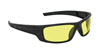 SAS Safety Black Frame VX9™ Safety Glasses with Mirror Lens