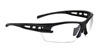SAS Safety Black Frame Spectro™ Safety Glasses with Clear Lens
