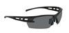 SAS Safety Black Frame Spectro™ Safety Glasses with Gray Lens