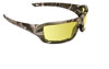 SAS Safety Dry Forest Camo Safety Glasses with Yellow Lens