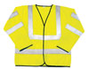 SAS Safety ANSI Class 3 Safety Jacket, Yellow, 2XL