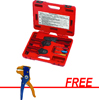 S & G Tool Aid Deutsch Terminals Service Kit with FREE Wire Stripper
