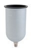 Sharpe 34 oz. Aluminum Gravity Feed Cup - 1L