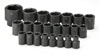 "SK Hand Tool 1/2"" Dr 6 Pt STD Metric ImpactSocket Set, 23 Pc"