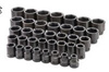 "SK Hand Tool 1"" Dr 6 Pt STD SAE ImpactSocket Set, 37 Pc"