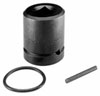 "SK Hand Tool 1"" Dr Impact Socket Budd Wheel Impact Socket, 33mm"