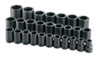 "SK Hand Tool 1"" Dr 6 Pt Deep SAE  Socket Set, 27 Pc"