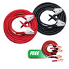 Solar 2GA 600A Booster Cable Set W/ FREE 12ft 10 GA Twin Booster Cables with 250A