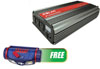 Solar 2000-Watt Power Inverter w/FREE COB LED Work Light 110 Max Lumen