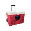 Sondpex KoolMAX - 40Quart Cooler, Bluetooth Audio System and Power Station, Red