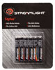 Streamlight 6 Pack AAAA Alkaline batteries - for Stylus & Stylus Reach