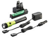 Streamlight Stinger® LED HL™ Rechargeable Flashlight with PiggyBack® Charger, Lime Green