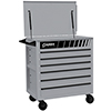 Sunex Tools Full Drawer Professional Duty Service Cart, Silver