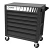 Sunex Tools Full Drawer Professional Duty Service Cart with Textured Finish