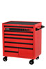 Sunex Tools Red 8-Drawer Service Cart