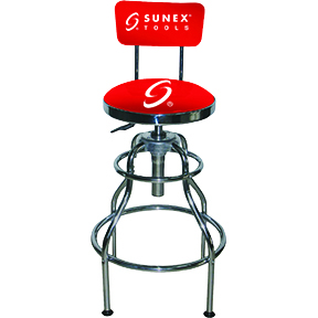 Sunex Tools Hydraulic Shop Stool
