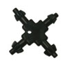 "Sunex Tools 3/8"" Drive 4-Way Chuck Key"