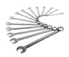 Sunex Tools Fully Polished SAE V-Groove Combination Wrench Set, 14 Pc.