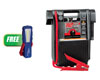 Booster PAC Truck Pac™ 3000 Peak Amp 12/24V Jump Starter w/FREE COB LED Work Light MAX 300LM