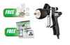 Tekna ProLite Premium TE10 & TE20 Spray Gun, 1.2, 1.3, & 1.4mm w/FREE HVLP HV30 Air Cap & DeKups Demo Kit