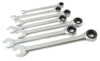 Titan Metric Ratcheting Combination Wrench Set, 7 pc