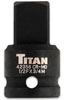 "Titan 1/2"" F to 3/4"" M Impact Socket Adaptor"