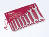 V8 Hand Tools Metric Super Thin Wrench Set, 9pc