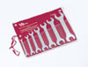 V8 Hand Tools Super Thin Wrench Set SAE, 7pc