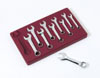 V8 Hand Tools Metric Stubby Combo Wrench Set, 10pc