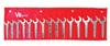 V8 Hand Tools Service Wrench Set, SAE, 15pc