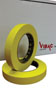 "Vibac 3/4"" Fluorescent Yellow Pro-Grade Automotive Masking Tape"