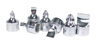 """VIM Tools 10 pc 1/4"""" Square Drive Stubby Flat and Phillips Drive Set"""