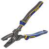 IRWIN VISE-GRIP High Leverage Lineman's Pliers with Fish Tape Puller and Wire Crimper, 9-1/2""