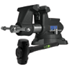 Wilton Wilton Special Edition 855M Pro Vise and Hammer Kit in. Black Finish
